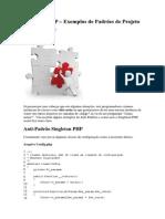 Singleton PHP – Exemplos de Padrões de Projeto