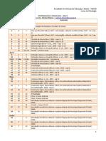 Cronograma Epistemologia - 2013