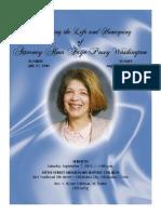 Celebrating The Life of Attorney Alma Faye Posey Washington
