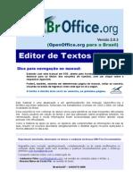 BrOffice Writer Manual