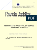 Responsabilidade Civil Do Estado Balas Perdidas