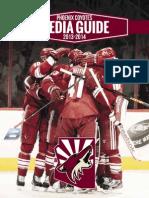 Phoenix_Coyotes Media Guide 2013-14