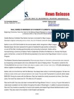 Mariners Clemente Nominee Ibanez