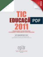 Tic Educacao Brasil 2011