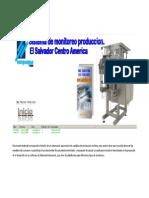 Propuesta Sistema Monitoreo de Produccion