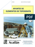 APUNTES DE ELEMENTOS DE TOPOGRAFÍA 2013