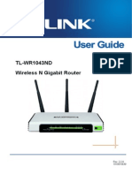 Tl-wr1043nd v1 User Guide