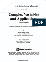 Variable Compleja y Sus Aplicaciones - 7ma Edicion - Churchill - Solucionario
