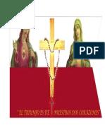 Corazones Inmaculados de Jesus y Maria