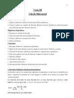 Corte III.Cálculo Diferencial