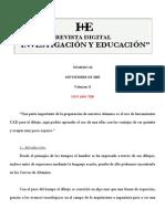 Investigacion y Educacion Dib Tecnico Cad