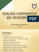 Analisis Comparativo Del Rendimiento