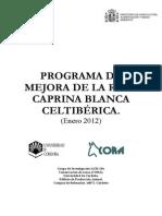 Programa de Mejora de La Raza Caprina Blanca Celtiberica .Definitivo