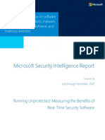Microsoft Security Intelligence Report Volume 14 Running Unprotected English