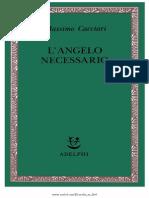 Massimo Cacciari Langelo Necessario 2008