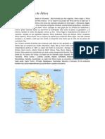 División política de África