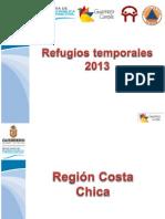 Refugios Temporales 2013 Region Costa Chica