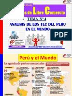 4 Los Tlc Del Peru en El Mundo - Analisis II 2013-1