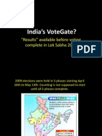 India's Votegate, EVM Ghotala (Sept. 17, 2013)