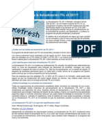 Actualizacion de ITIL 2011