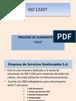 Ejemplo ISO 12 207