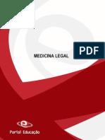 Medicina Legal - Completa (Pericias / lesoes / sexologia / tanatologia / Energias de orgem fisica / quimica...