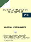Sistema de Produccion de La Empresa