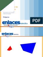 Transparencias para presentar la semejanza entre polígonos
