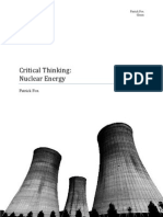 Sustainability of nuclear energy