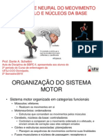 3 SISTEMA MOTOR controle central do movimento CEREBELO E NUCLEOS DA BASE.pptx