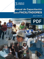 Manual de capacitación para facilitadores
