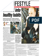 George Hyde, Keeping Fit, Sun Media (March 30, 2006)