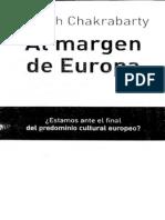 Al Margen de Europa_libro