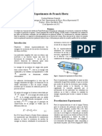 Informe III - Experimento de Franck-Hertz