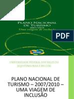 Trabalho Plano Nacional de Turismo.pptx