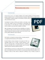 Procesador Amd e Intel
