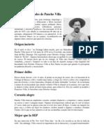 Nueve Curiosidades de Pancho Villa