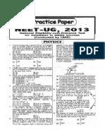 Physics Practice Paper