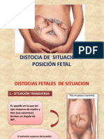 DISTOCIA DE SITUACIÓN-POSICIÓN