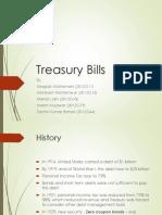 Capital & Money Markets Assignment# 1 - Treasury Bills