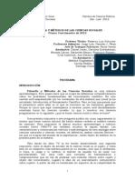 Programa FyM Cuatrimestre 2012