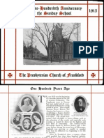 Presbyterian Church of Frankford - 100th Anniversary Program 1915