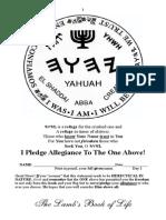 The Besorah of Yeshua -YHWH