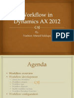 Presentation Workflow in Dynamics Ax