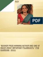 arundhati roy apresentação a literatura
