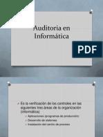 Auditoria en Informatica