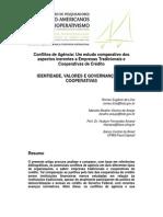 Conflito Agencia Um Estudo Comparativo Dos Aspectos Inerentes a Empresas Tradicionais