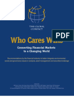 Who Cares Wins — Connecting Financial Markets to a Changing World (June 2004)