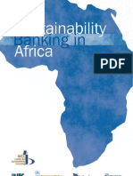 Sustainability Banking in Africa (September 2004)