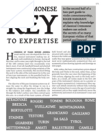 Artikel 2011 06 Key to Expertise
